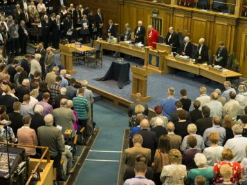 Church Extends 'Open Hands, Not Clenched Fists'