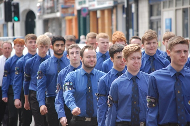 Queen S Badges For 72 Boys Brigade Members News Life And Work