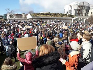 Aid Organisations Support Climate Strike