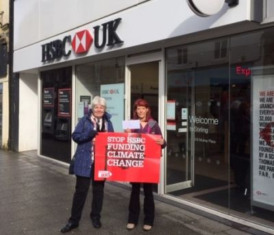 Climate Campaigners' HSBC Call - News - Life and Work