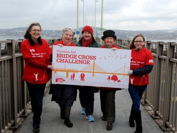 Moderator In Christian Aid Bridge Challenge